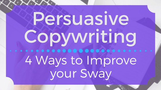 Persuasive Copywriting: 4 Ways to Improve your Sway image