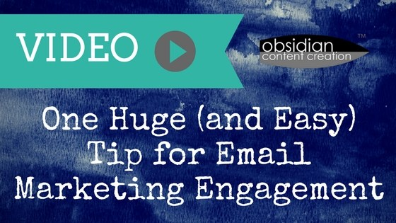 VIDEO: One Huge (and Easy) Tip for Email Marketing Engagement image