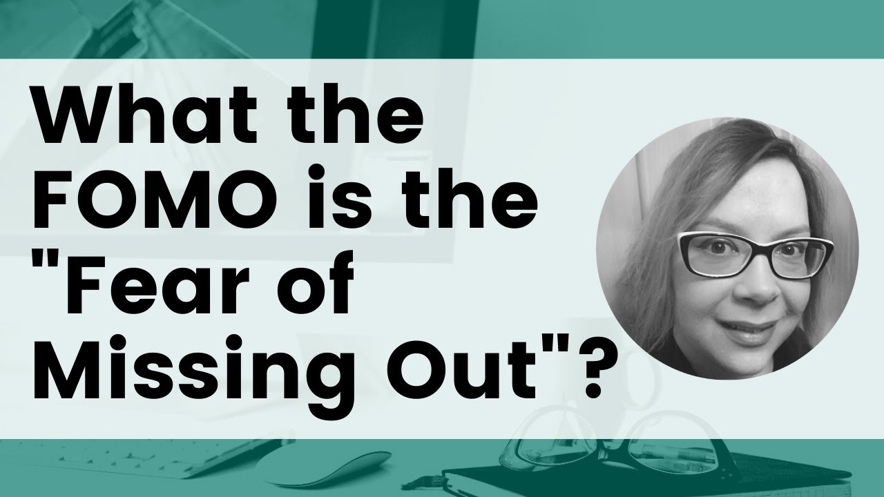 What the FOMO is the Fear of Missing Out? image